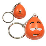 Porte-clés mini personnage amusant anti-stress - Excentrique