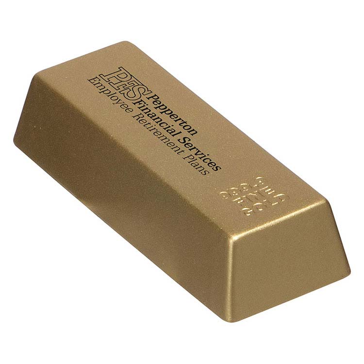 Lingot d'or anti-stress