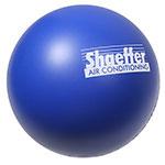 Balle anti-stress bleue
