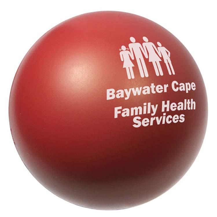 Burgundy Stress Ball