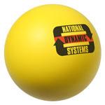 Balle anti-stress jaune