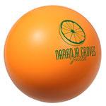 Balle anti-stress orange