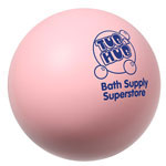 Balle anti-stress rose pastel