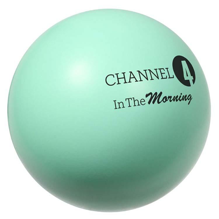 Pastel Green Stress Ball