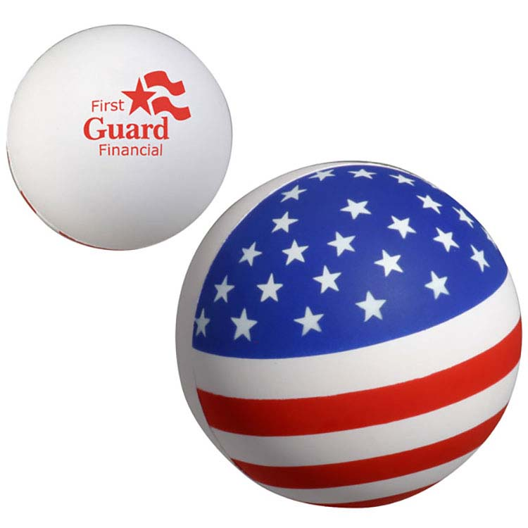 Balle patriotique anti-stress