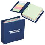 Cahier de notes de 250 feuilles avec 125 marqueurs adhésifs
