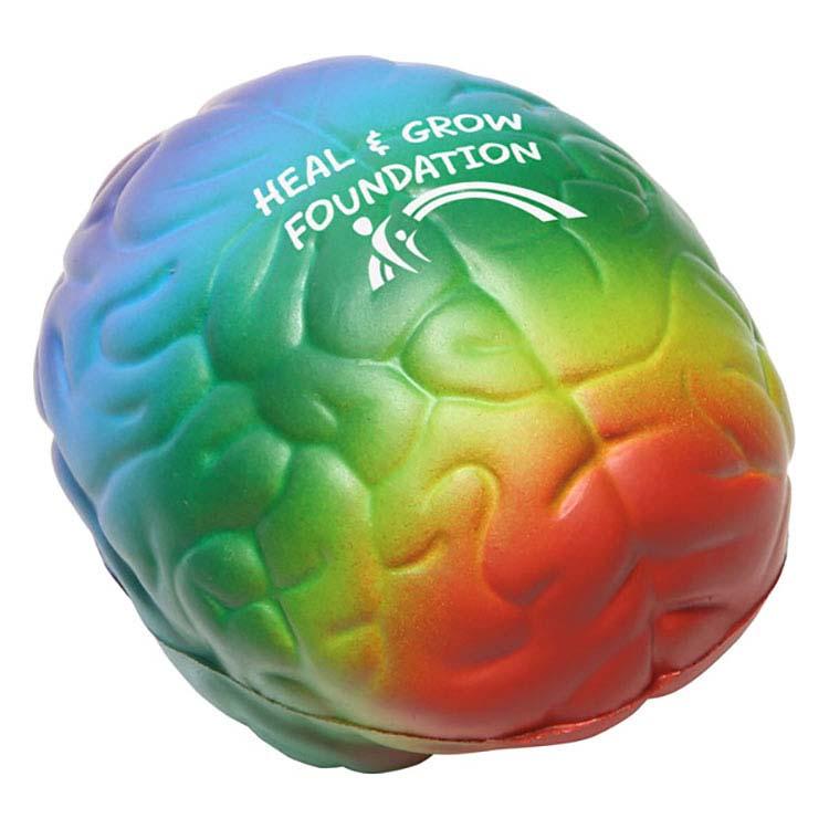 Cerveau arc-en-ciel anti-stress