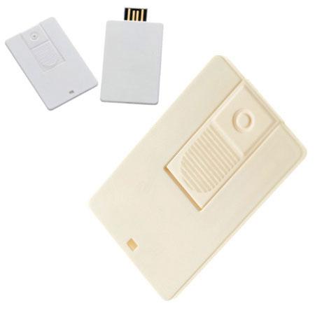 Clé USB carte en plastique