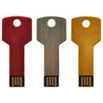 Clé USB clef en aluminium avec logo