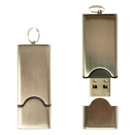 Clé USB économique en acier inoxydable