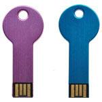 Clé USB en forme de clef ronde