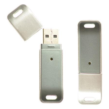 Clé USB en plastique et logo
