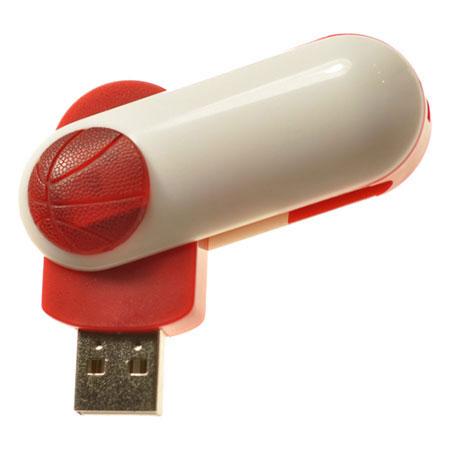 Clé USB pivotante avec ballon