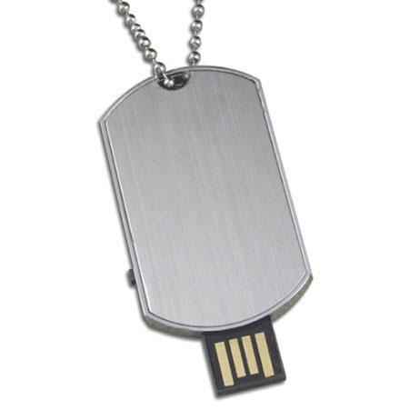 Clé USB plaque d'identification