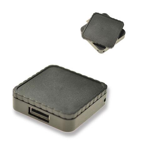 Clé USB rétractable carré