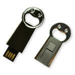 Clé USB rétractable ouvre-bouteille