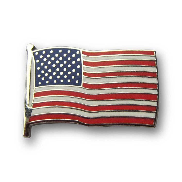 Épinglette drapeau des États-Unis