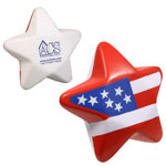 Étoile patriotique anti-stress