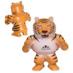 Mascotte de tigre anti-stress