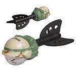 Missile à lancer amusant - Camouflage militaire