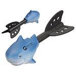 Missile à lancer amusant - Requin bleu