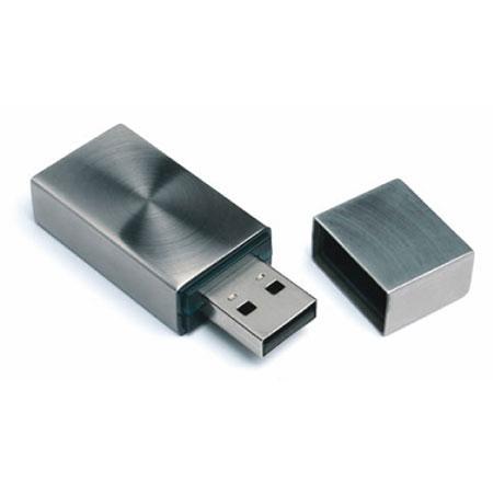 Petite clé USB en acier inoxydable