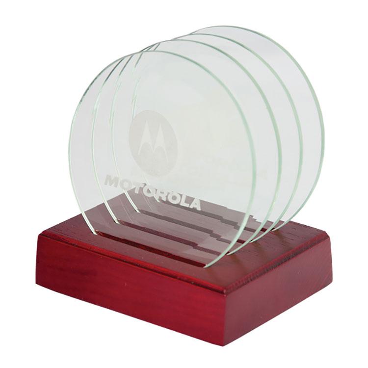 sous verres en verre articles promotionnels et objets publicitaires. Black Bedroom Furniture Sets. Home Design Ideas