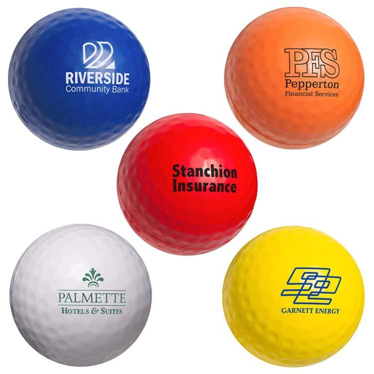 Balle de golf anti-stress