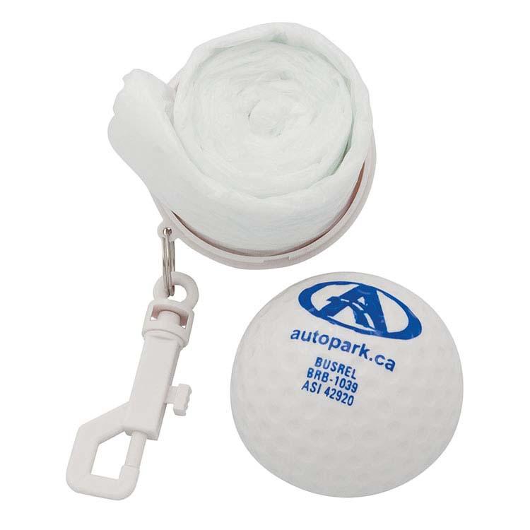 Balle de golf poncho #2