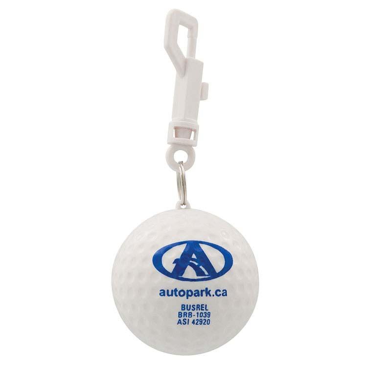 Balle de golf poncho