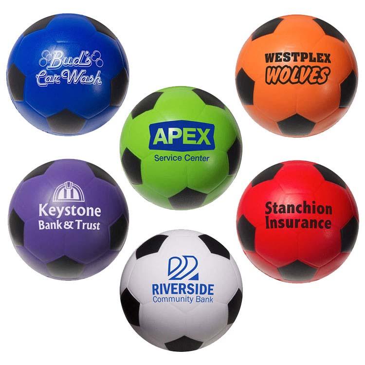 Ballon de soccer anti-stress