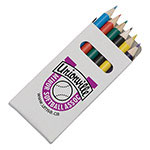 Boîte de 6 crayons couleurs