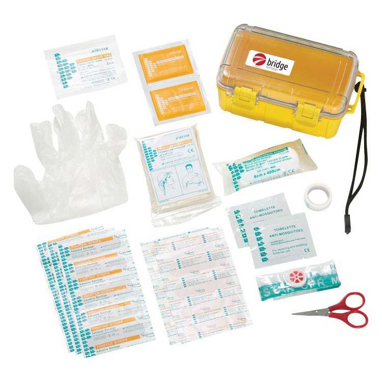 Boîte de premiers soins hydrofuge 37 pièces