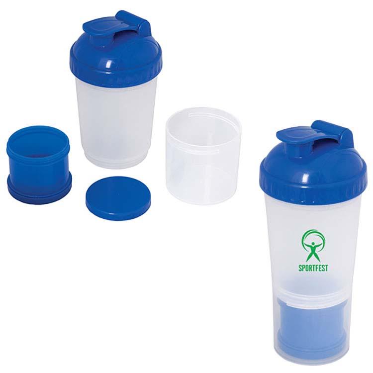 Bouteille à mélanger 600 ml (20 oz) Fitness Fanatic #2