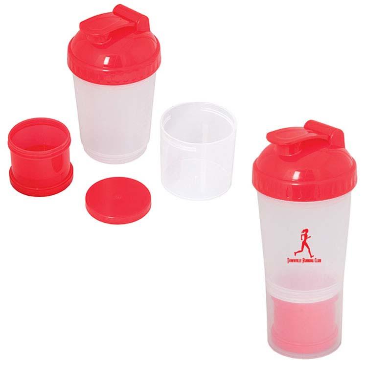 Bouteille à mélanger 600 ml (20 oz) Fitness Fanatic #4