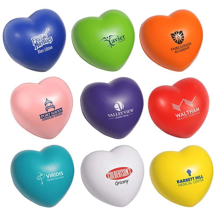 Coeur de la Saint-Valentin balle anti-stress