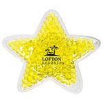 Coussin chaud/froid en forme d'étoile