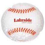 Coussin chaud/froid en forme de balle de baseball
