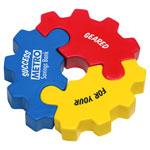 Engrenage puzzle 3 morceaux