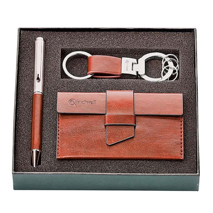 Fabrizio Pen, Key Ring and Card Holder Gift Set #3