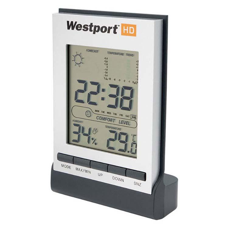 Horloge avec station météo