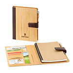 Journal rechargeable en bambou