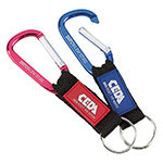 Carabiner with Web Strap 6 cm