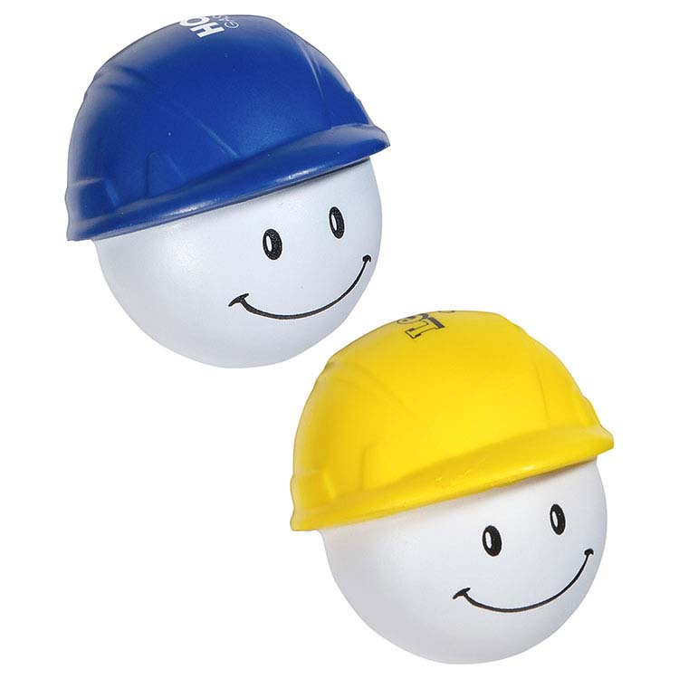 Casque de construction Mad balle anti-stress