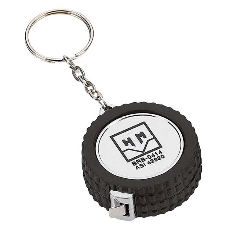Pneu porte-clés galon à mesurer