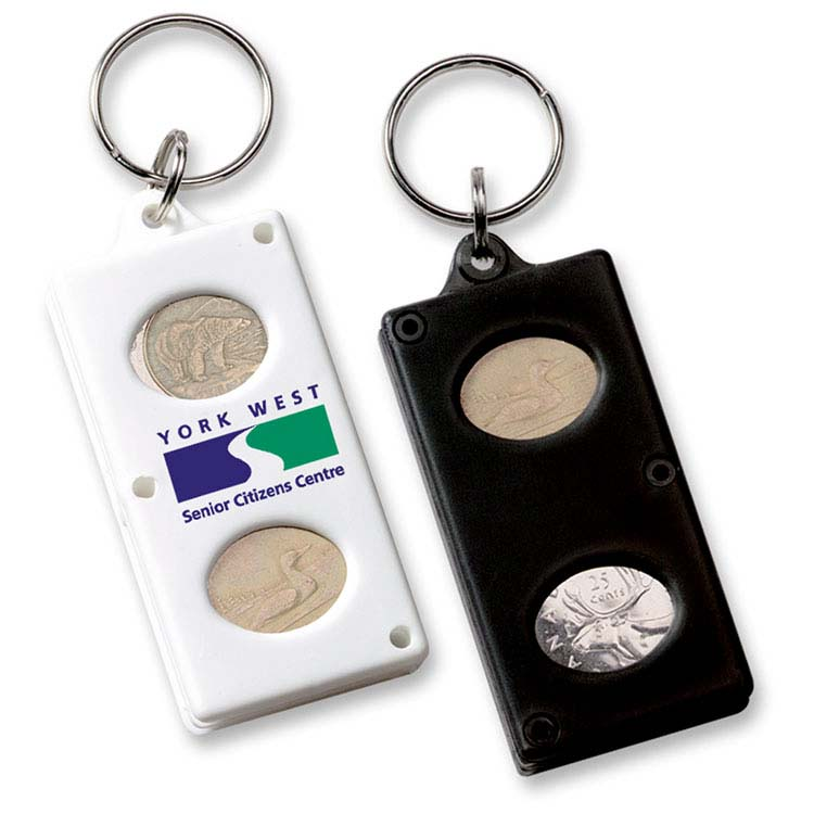 Porte-clés à monnaie