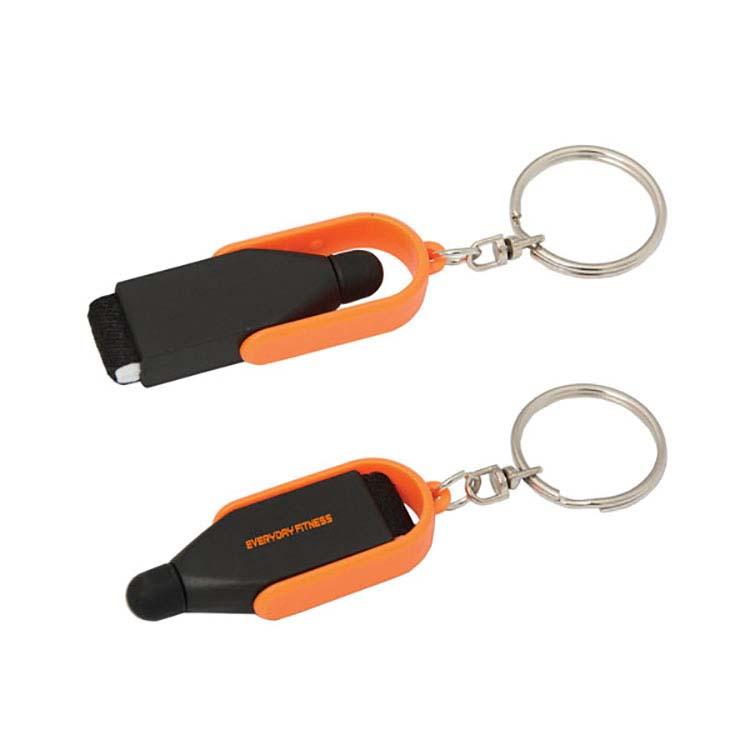 Porte-clés nettoyeur d'écran avec stylet #6