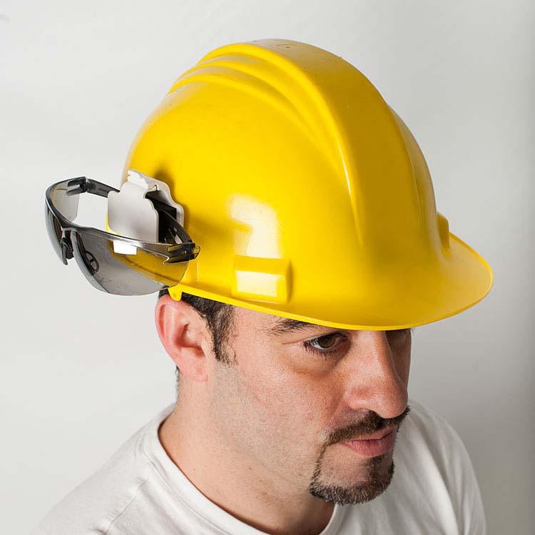 Safety Glasses Hard Hat Holder 10429