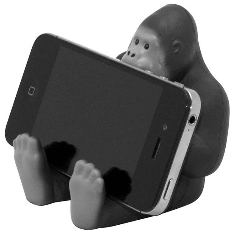 Support pour téléphone en forme de gorille