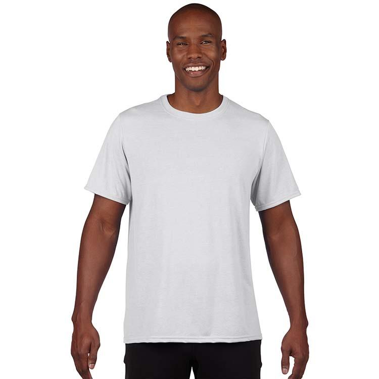 T-shirt Gildan Performance 42000 pour adulte - Blanc